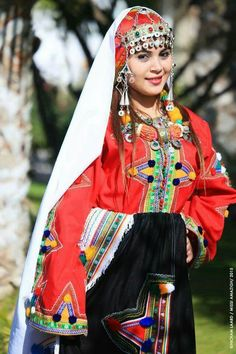 Costume traditionnel des Oulad Ait Semlal