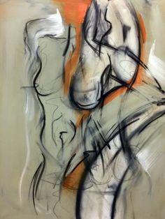 "Saatchi Art Artist claudia christof; Painting, ""duality"" #art Saatchi Art, Original Paintings, Abstract, Canvas, Artist, Artwork, Summary, Tela, Work Of Art"