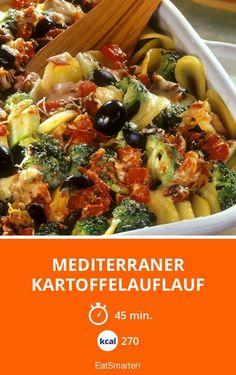 Mediterraner Kartoffelauflauf