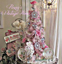 Penny's Vintage Home: Valentine Tree