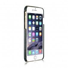 iPhone 6 6s Plus 5.5 - CaseMe Card Holder KickStand PU Leather Soft Phone Protective Cover Case - Black