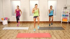 Burn Up the Calories With This At-Home Cardio Workout: Not into running? No worries.