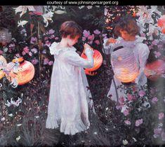 """Carnation Lily, Lily Rose"" by John Singer Sargent"