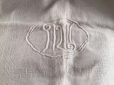 Linen tablecloth, handmade, vintage tablecloth, damask linen, tablecloth,monogrammed tablecloth, french antique, wedding tablecloth, linen