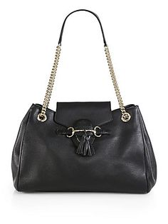 d37e8485709 Gucci - Emily Leather Shoulder Bag