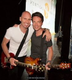 Matthew Scannell and Richard Marx Vertical Horizon, Richard Marx, Singer, Music, People, Wednesday, Inspire, Twitter, Check