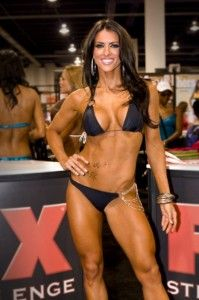 Amanda Latona IFBB Bikini Pro - I really wanted a suit like hers...