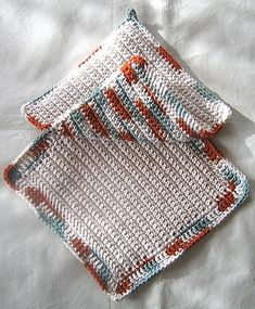crochet dishcloth patterns for beginners | All beginner crochet patterns, on this website, are written infull ...