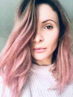 #pink #pinkhair #balayage #balayagehair #haircolor Long Face Haircuts, Long Faces, Dream Hair, Balayage Hair, Pink Hair, Hair Colors, Hair Cuts, Long Hair Styles, Beauty