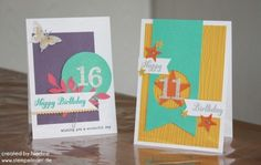 Geburtstagskarte Stampin Up Birthday Card Grusskarte Greeting 008