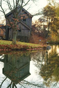 Different version of Midway Village Mill and Museum (replica) in Rockford, Illinois.