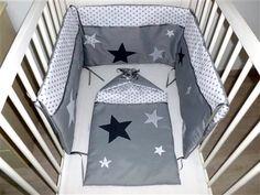 Tours de lits et gigoteuses étoilés | Pistache & Chocolat - Gigoteuses, tours de lit, housses de matelas à langer, tout pour bébé, cousu main