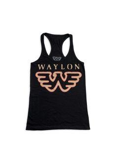 Waylon Jennings Flying W Women's Tank Top