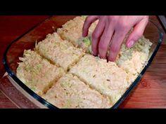 Készítsen káposztás pitét 5 perc alatt! Egészséges és olcsó étel! # 453 - YouTube Cooking Videos, Cooking Recipes, Healthy Recipes, Cheap Meals, Cheap Food, Family Meals, Mashed Potatoes, Vegan, Side Dishes