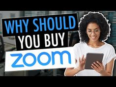 Should you buy Zoom stock, Stock Up HUGE After GREAT EARNINGS! Time To Buy Now? - YouTube Investing Money, Saving Money, Zoom Video Communications, The Retina, Accounting And Finance, Today Episode, Stock Market, Personal Finance, Buy Now