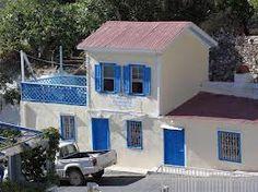 Το καφενιο του Παπά Ελιά στο Απερι Καρπαθος