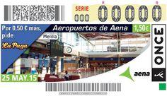 Aeropuerto de Melilla Sorteo el 25 de mayo de 2015.