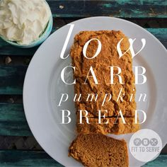 A delicious low carb pumpkin bread that allows you to enjoy pumpkin season on a low carb keto diet without the guilt of extra carbs.