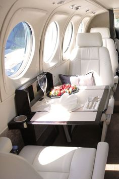 First class seat.