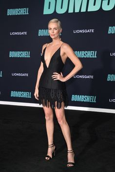 Charlize Theron In Christian Dior Haute Couture - 'Bombshell' LA Screening - Charlize Theron Wore Christian Dior Haute Couture To The 'Bombshell' LA Screening - Charlize Theron Style, Charlize Theron Oscars, Haute Couture Dresses, Haute Couture Fashion, Christian Dior, Dior Dress, Bombshells, Celebs, Actresses
