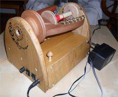 "Ravelry: BlackMary's Electric spinning wheel ""Salamandra"""