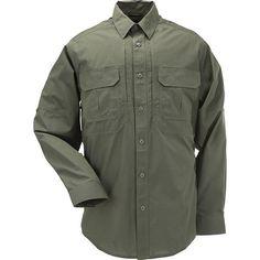 5.11 Taclite TDU Long Sleeve Shirt, TDU Green, L