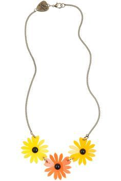 Marigold Triple Necklace £54 - SS12