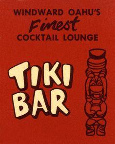 #TBT - It's a sign! (Vintage Tiki Bar Sign) www.talesfromthetiki.wordpress.com
