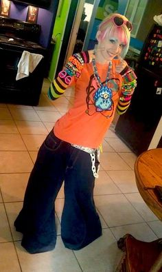 Old School Raver Girl Style | Old School Raver Days | Pinterest | Aquamarines Schools and Blue