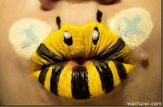 Bumble Bee Lip - Great for those East Side Bees