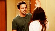 Pin for Later: 50 Reasons You Can't Stop Crushing on Nick Miller He Gives Sweet Looks Like This