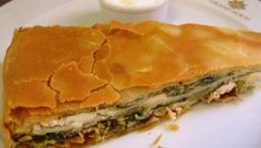 Ηπειρώτικη χορτόπιτα στο Grand Serai Savory Muffins, Savory Tart, Flour Recipes, Cooking Recipes, Cypriot Food, Greek Pita, Greek Cooking, Dessert, Spanakopita