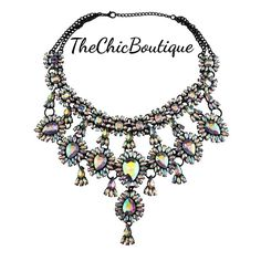 A beautiful variation of color in this gorgeous statement necklace!  Fast and free shipping in the US! | Shop this product here: http://spreesy.com/TheChicBoutique/62 | Shop all of our products at http://spreesy.com/TheChicBoutique    | Pinterest selling powered by Spreesy.com