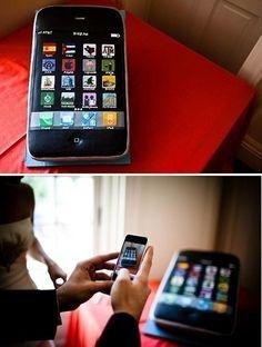 iPhone cake   iPhone iphone.