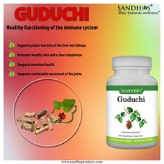 #SandhuProducts #Guduchi #Capsules supports healthy functioning of the immune system #Ayurveda #Livermore www.sandhuproducts.com
