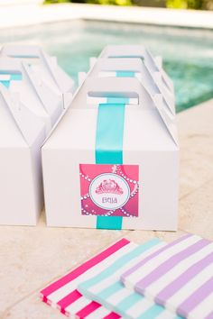 Party Lunchboxes :: Barbie™ The Pearl Princess Party