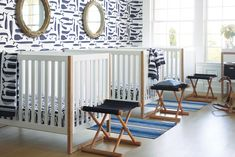 Shop the Nursery Collection. Browse Baby Bedroom Furniture and Décor options at Serena and Lily. Give your little one the dream bedroom they deserve. Chic Nursery, Nursery Decor Boy, Nursery Design, Nursery Themes, Nursery Room, Girl Nursery, Nursery Ideas, Nautical Nursery, Safari Nursery