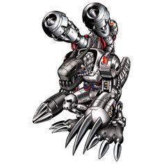 Machinedramon - Mega level Machine digimon