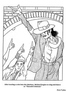 michael jackson coloring pages c0lorcom