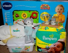 Celebrate Your Child's Milestones & A Pampers #Giveaway. #SwaddlersFirsts #ad