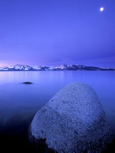 Moon - Lake Tahoe, California
