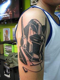 Transformers Autobot Logo Tattoo