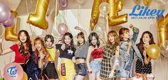 Twice Likey Sana Dahyun Tzuyu Nayeon *******. Kpop Girl Groups, Korean Girl Groups, Kpop Girls, Shy Shy Shy, Color Pop, Twice Photoshoot, Twice Album, K Pop Star, Beginning Sounds