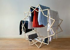spatula:  (via Star-shaped clothes horse by Aaron Dunkerton)