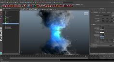 CREATING A FLUID TORNADO WITH MAYA