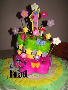 Torta de Florecitas