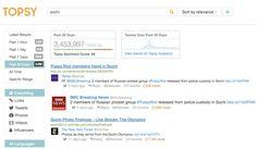 Topsy pour mesurer la performance de votre compte Twitter - Kriisiis.fr - Social Media Trends