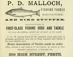 1880 P.D. Malloch British angling ad.