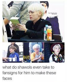 Jonghyun, what is that face?