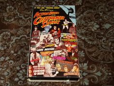 Action Heroes of the Cliffhanger Serials (VHS, 1992) OOP GoodTimes Compilation!